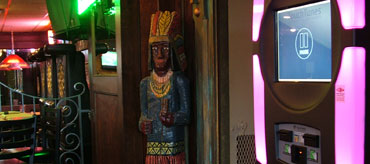 MCs Dugout - Jukebox and Cigar Indian